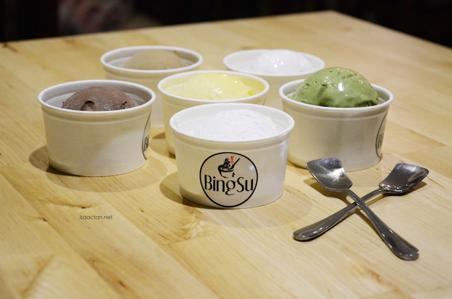 100% natural ice cream and sorbet