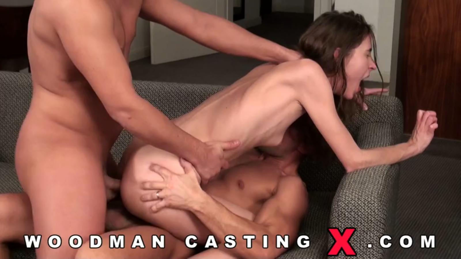 Порно кастинг тощие
