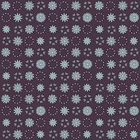 snowflake pattern blue