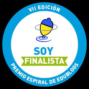 ¡¡Somos finalistas de los premios Espiral Edublogs 2013!!