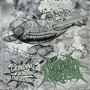 "NUCLEAR HOLOCAUST - ""GRINDING BOMBING THRASHING"""