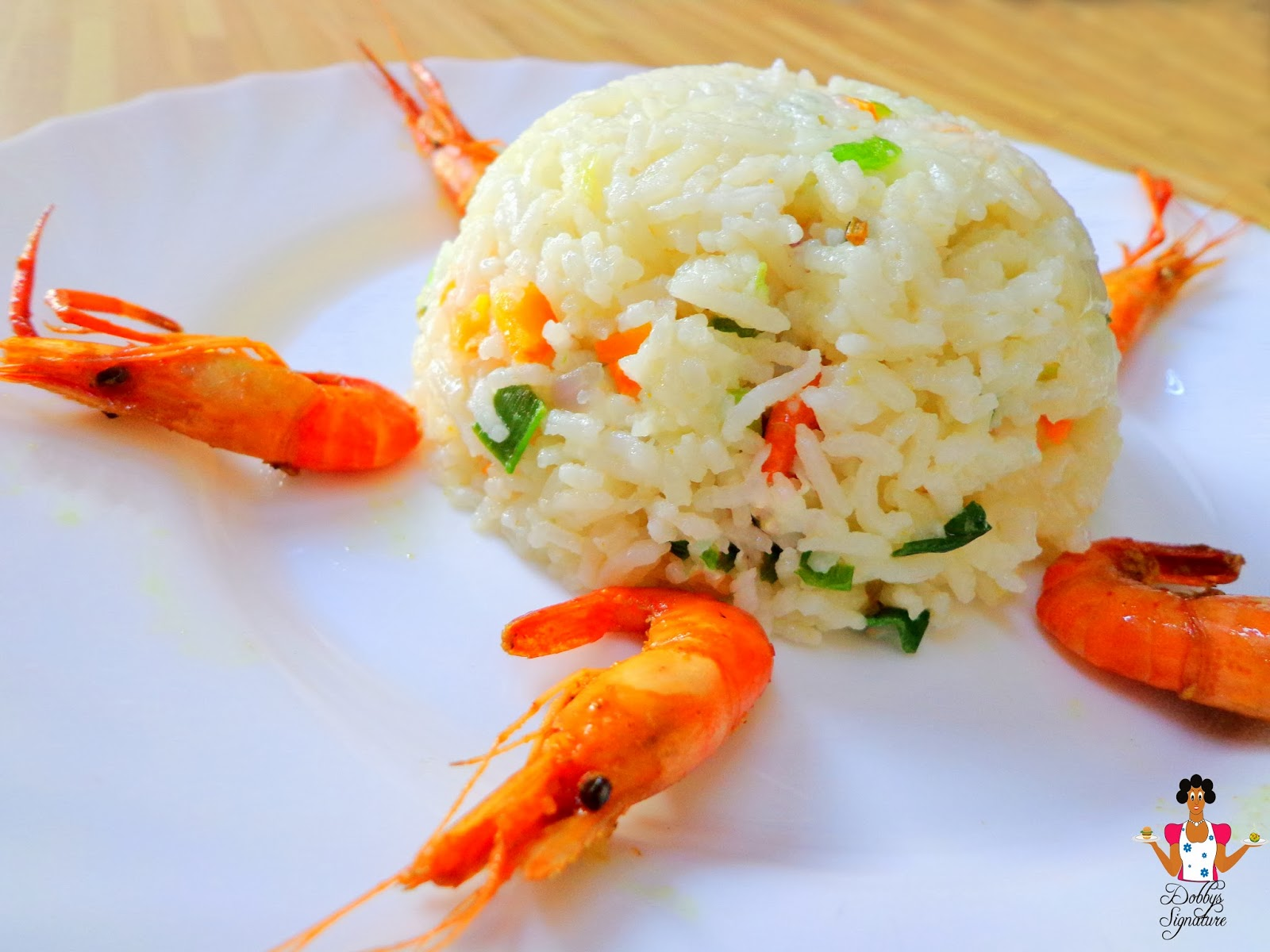 Dobbys signature nigerian food blog i nigerian food recipes i basmati seafood fried rice ccuart Choice Image