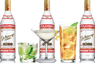 cocktails vodka