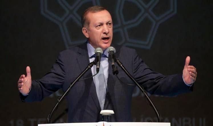 أردوغان: التهدئة يجب أن تتم مع حماس وليس مصر