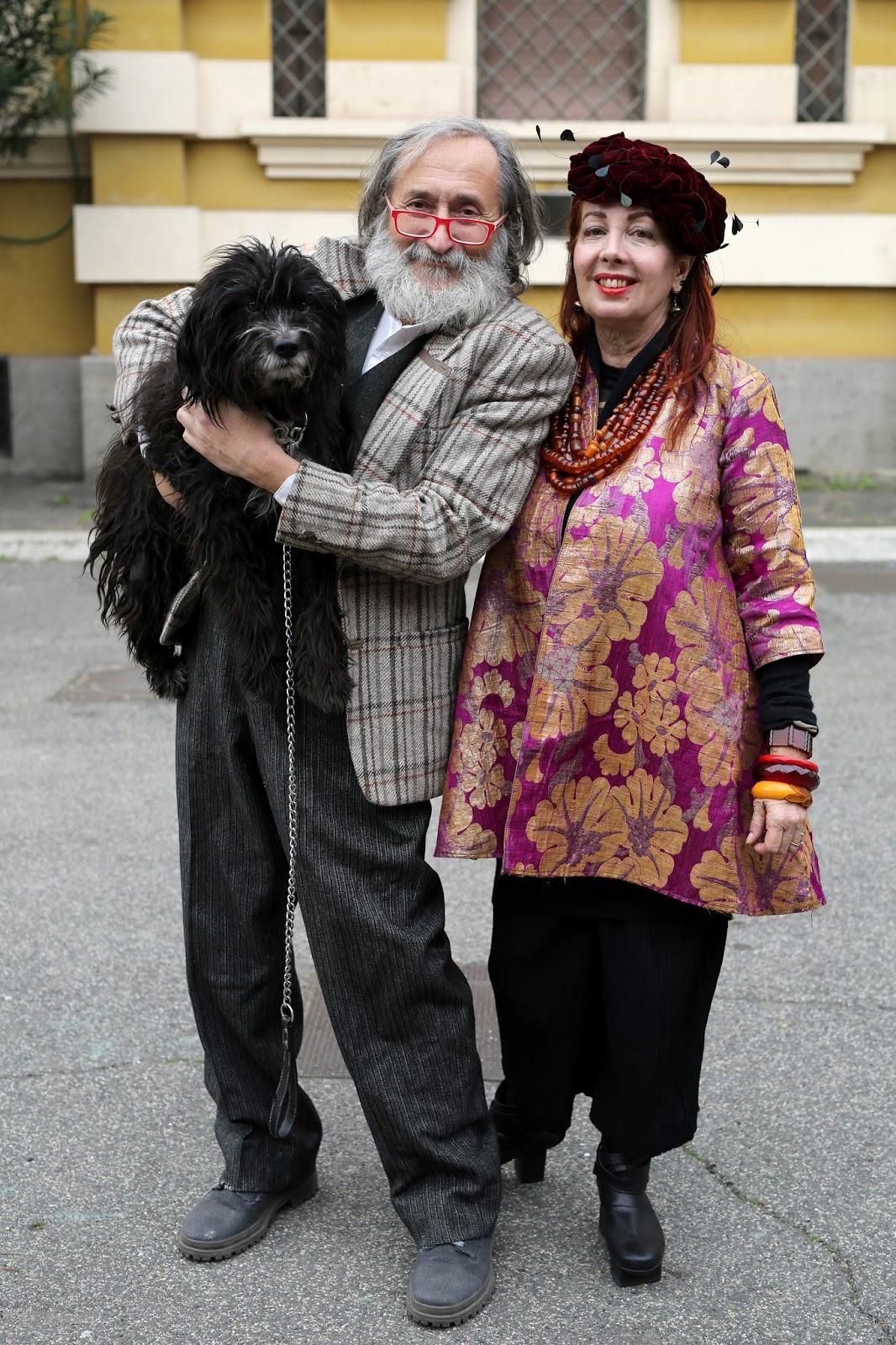 Streetstyle cực chất của những fashionista bô lão ảnh 13