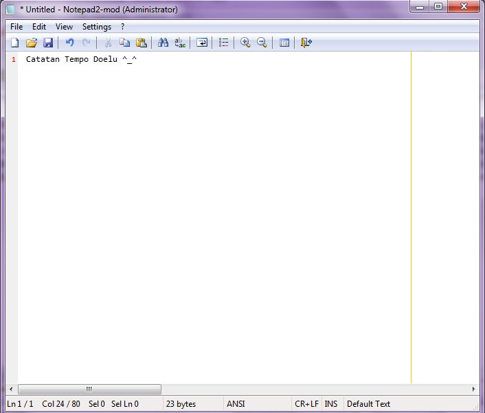 Download Notepad2-mod 4.2.25.904 Final