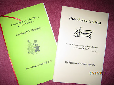 Two of Maude's Poetry Chapbooks: