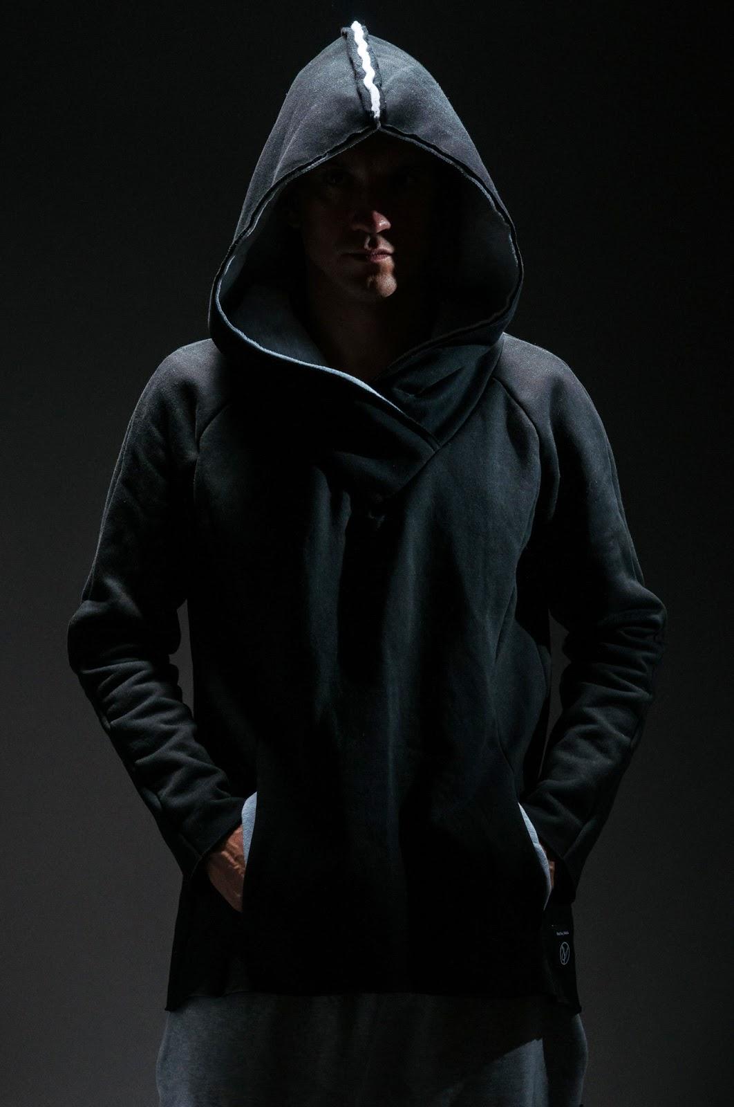 Bluza bokserska czarna   M. Czernecki, fot. Wiśnios Kitchen Studio