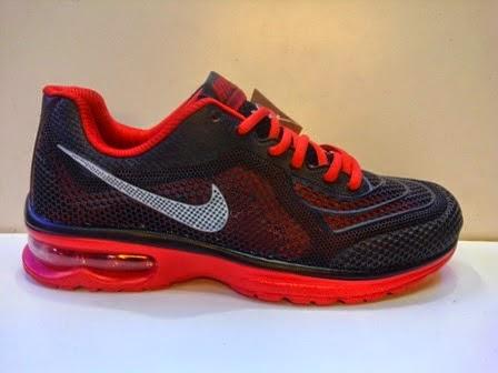 Sepatu Nike Air Max 3D hitam merah murah