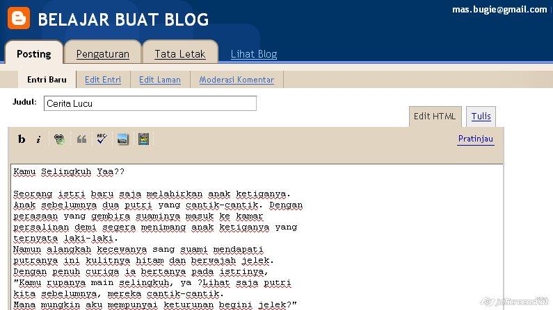 6 Tips Sederhana Untuk Menulis Entri Blog