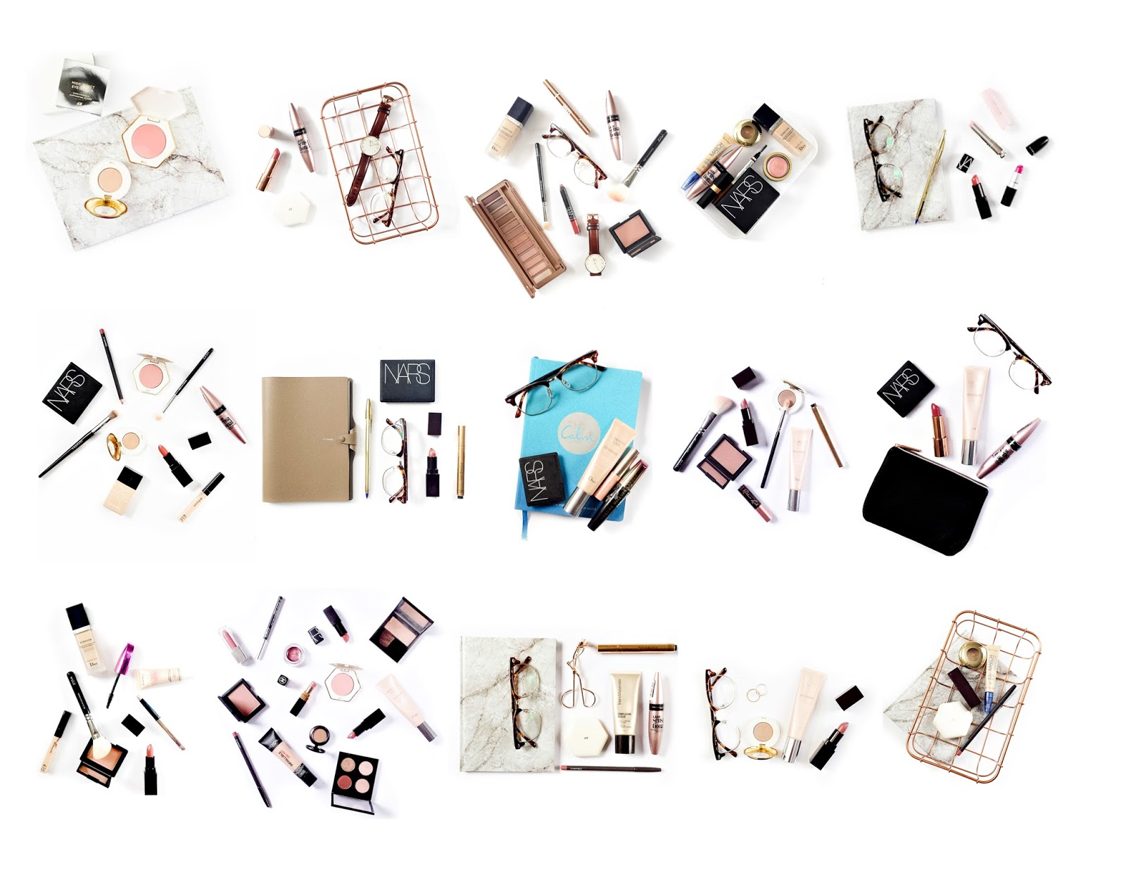 makeup flatlay, makeup pictures, instamonth blog