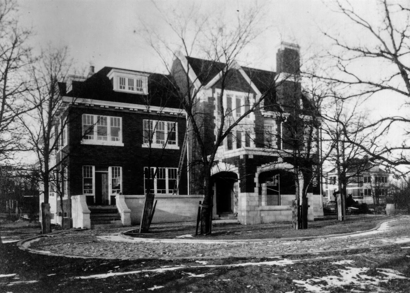 Ralph Connor House Exterior (Archival Photo)