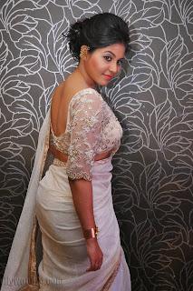 Anjali latest Glamorous pics in saree 039