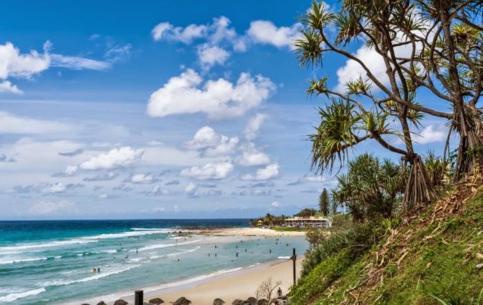 лучшие пляжи австралии побережье голд кост