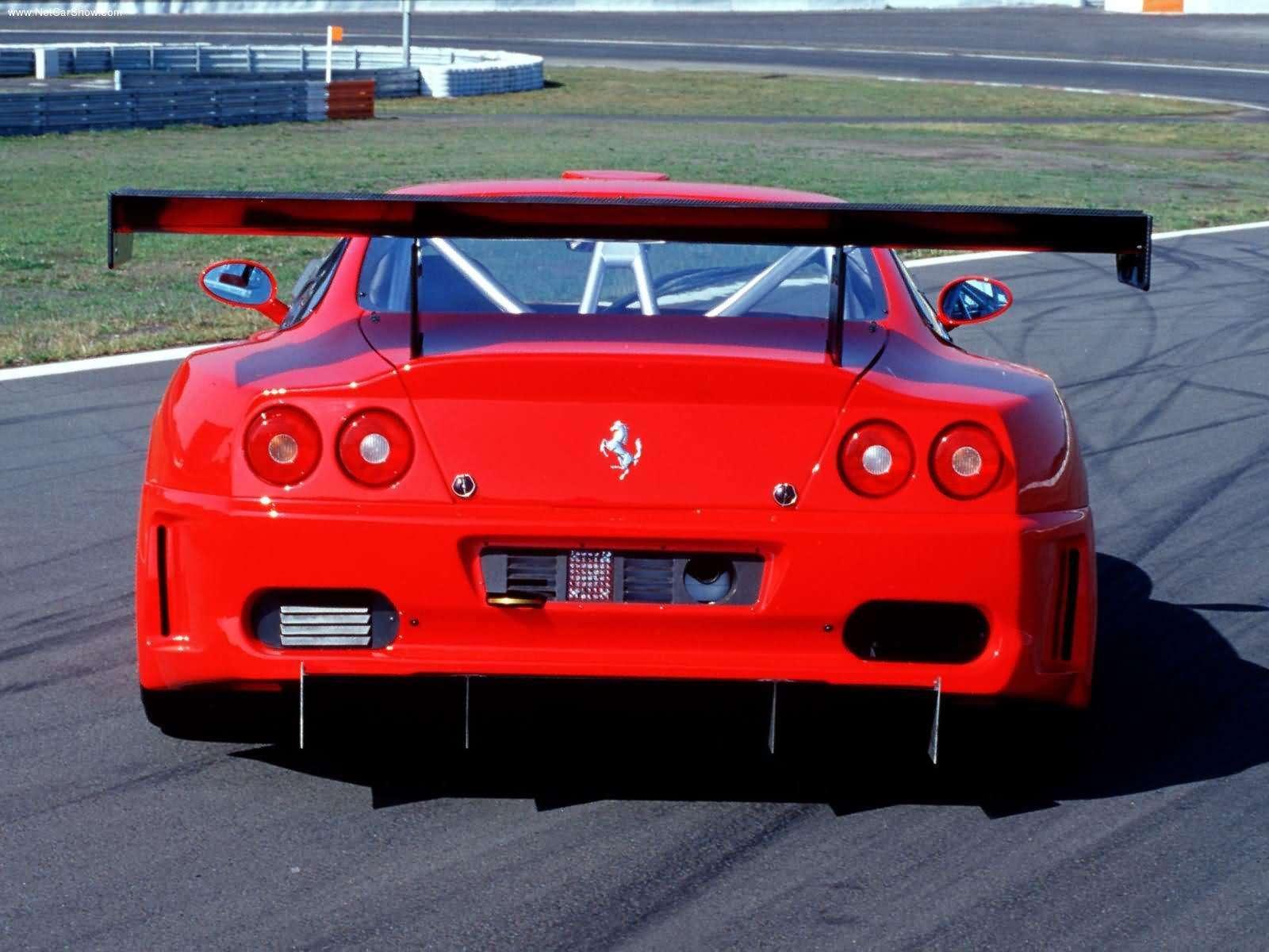 Hình ảnh siêu xe Ferrari 575GTC 2003 & nội ngoại thất