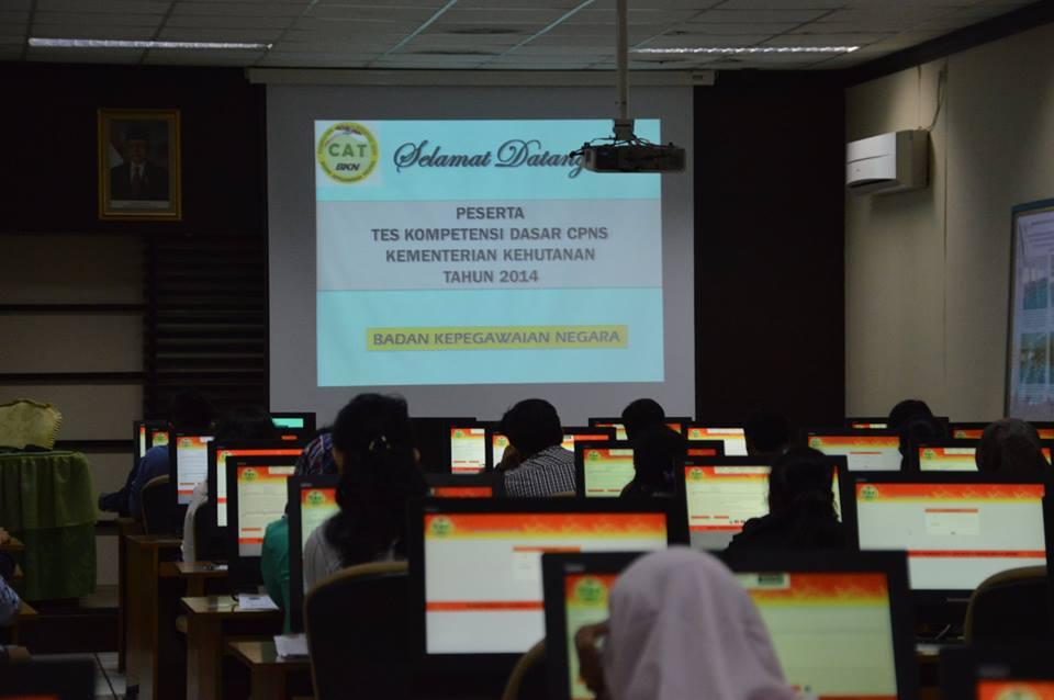 Tes CAT TKD CPNS 2014 Pertama di Gelar Oleh Kementerian Kehutanan