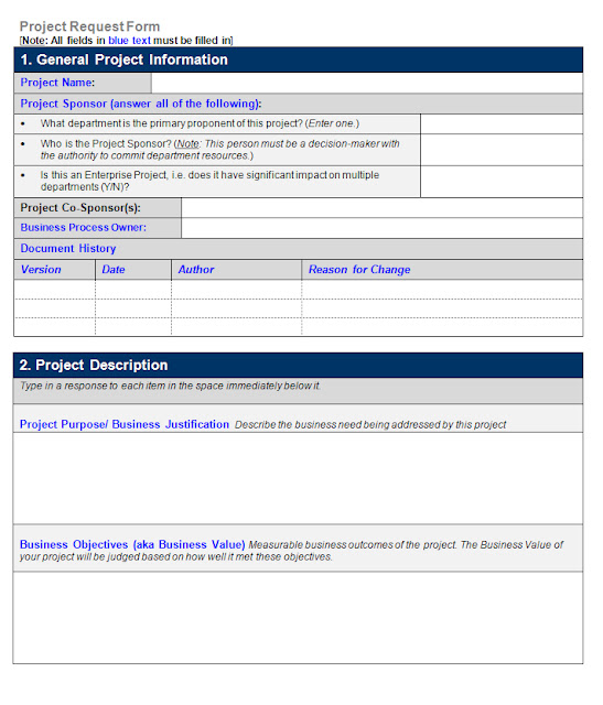 Office Forms Project Request Form  Pages