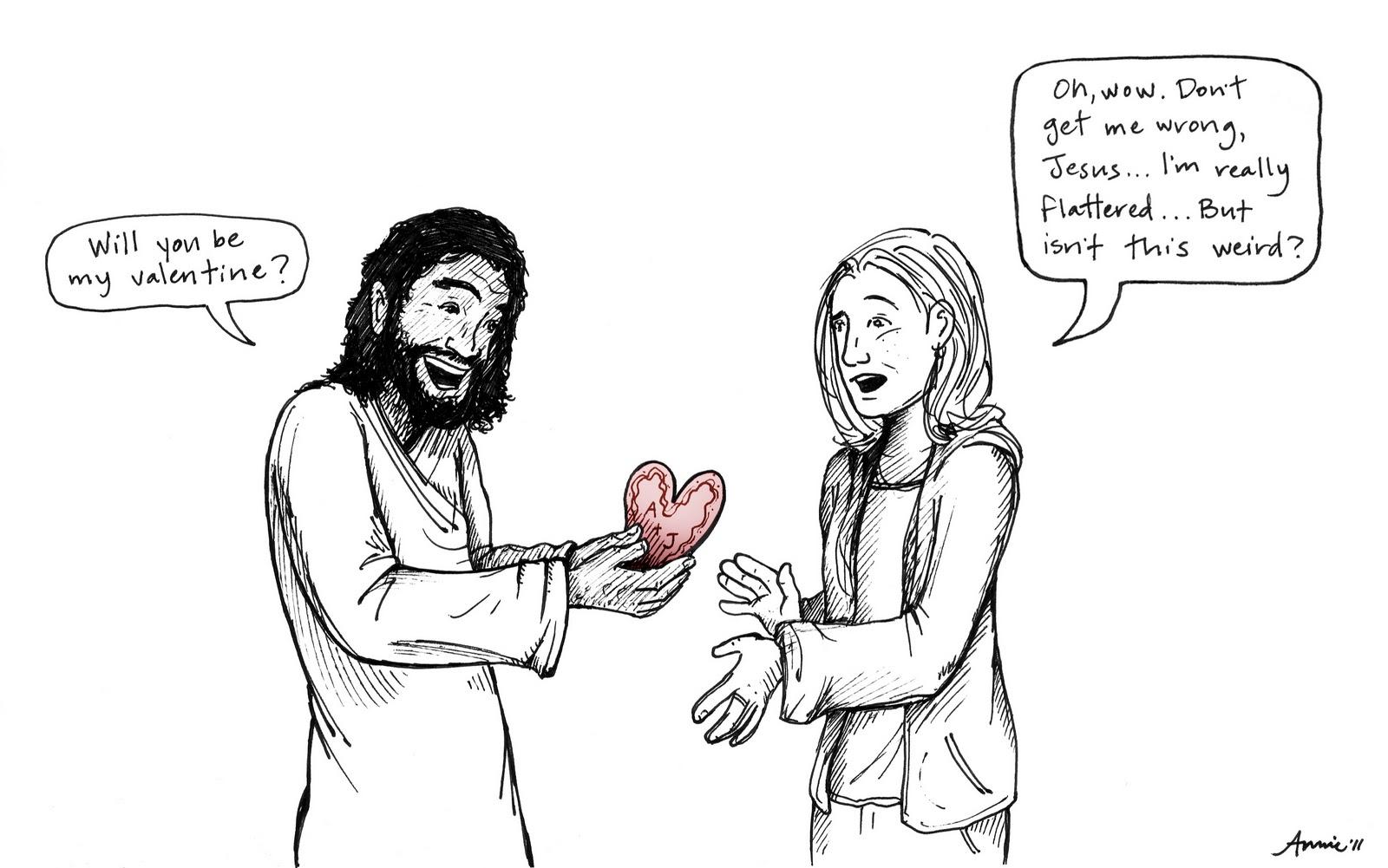 Valentine Jesus Annie Ink