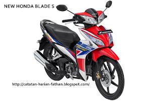New honda blade S