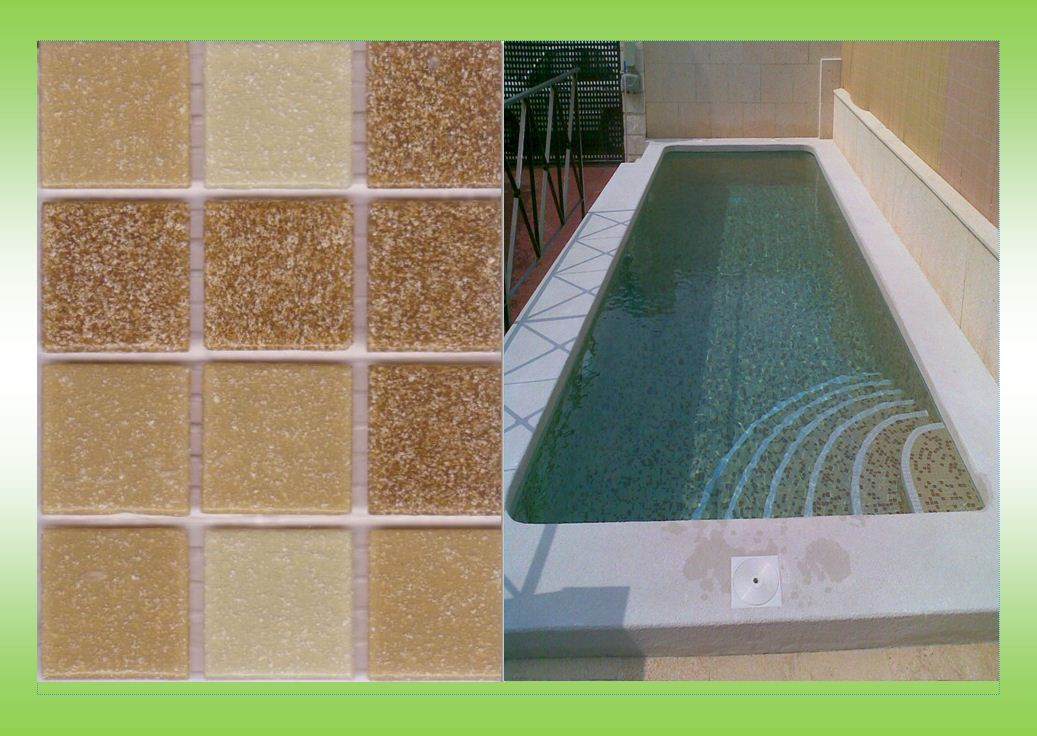 Gresite de importacion for Gresite piscinas colores