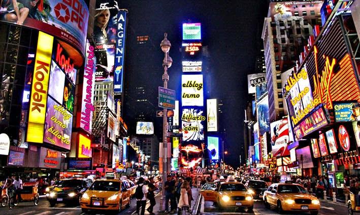 Times Square elbloginmobiliario.com