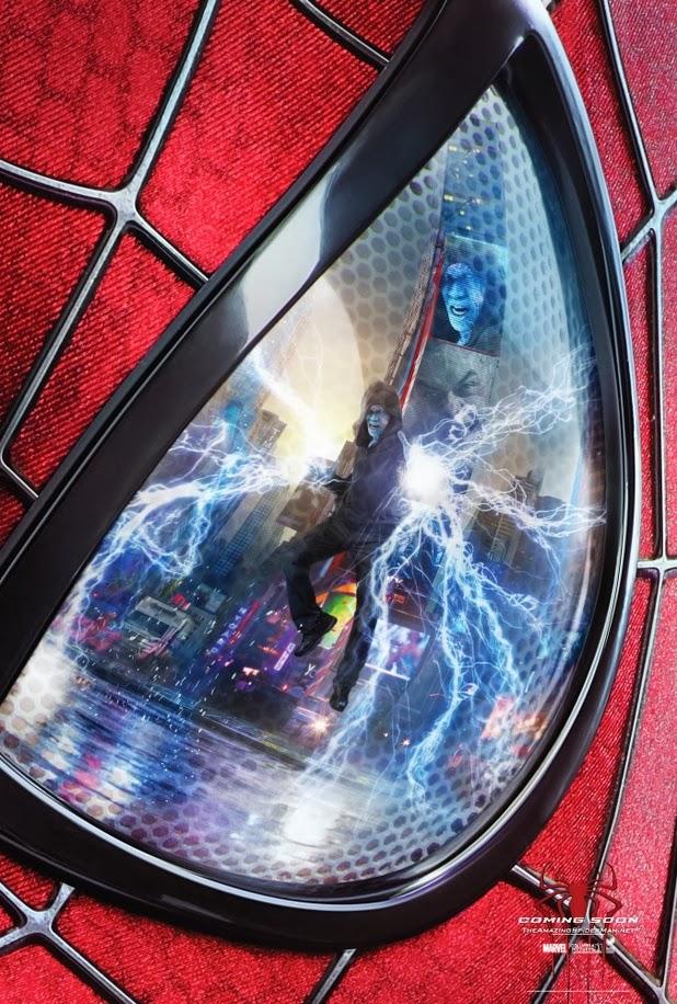 2 new posters of the amazing spider man 2 teaser trailer. Black Bedroom Furniture Sets. Home Design Ideas