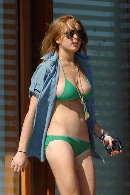 Lindsay Lohan Hot