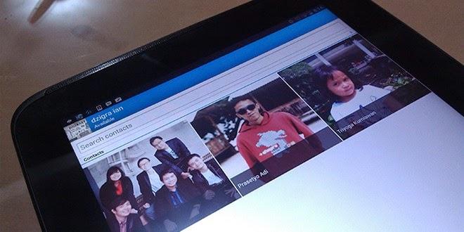 Aplikasi Pesan Singkat BBM for Android Tablet