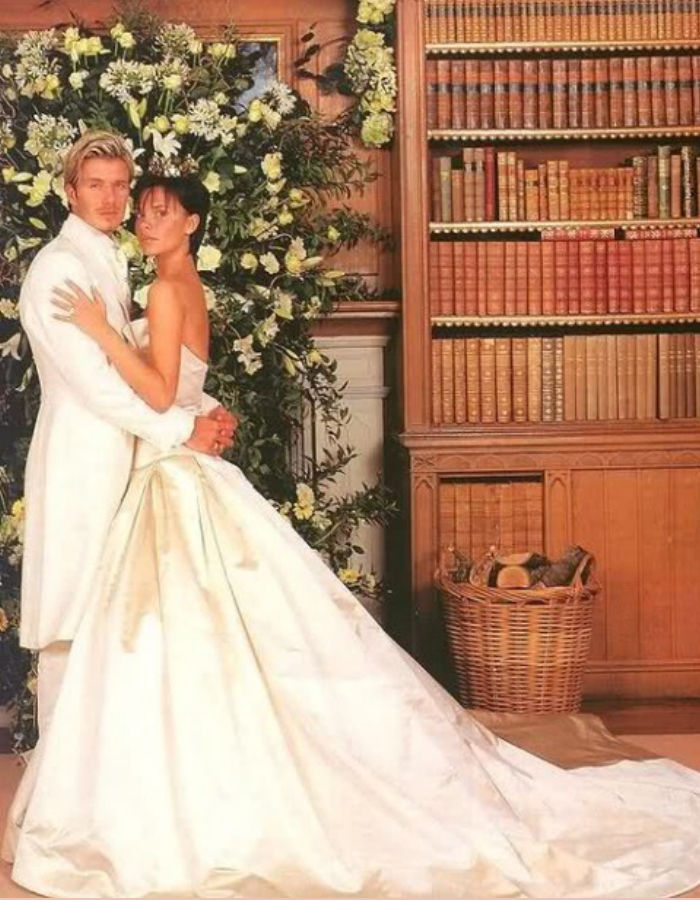 Victoria and David Beckham wedding