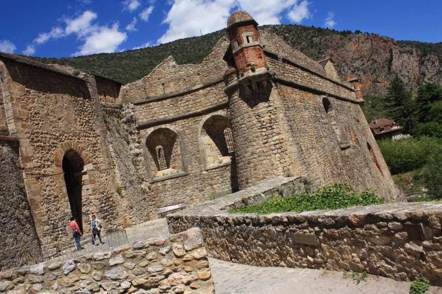 Town walls of Villefranche de Conflent