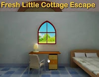 Fresh Little Cottage Escape walkthrough.