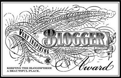 The Inspiring Blogger Award by Jessica Alicia