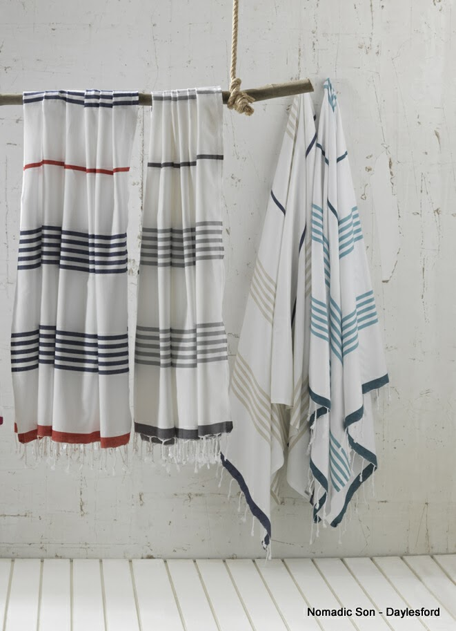 Chamomile and Peppermint Blog - I'm Loving - Turkish Hammam Towels Pestemals