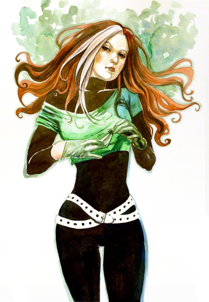 Fashion and Action  Rogue Gallery - X-Men Fan Art By Hans  Shumate    X Men Rogue Costume Ideas
