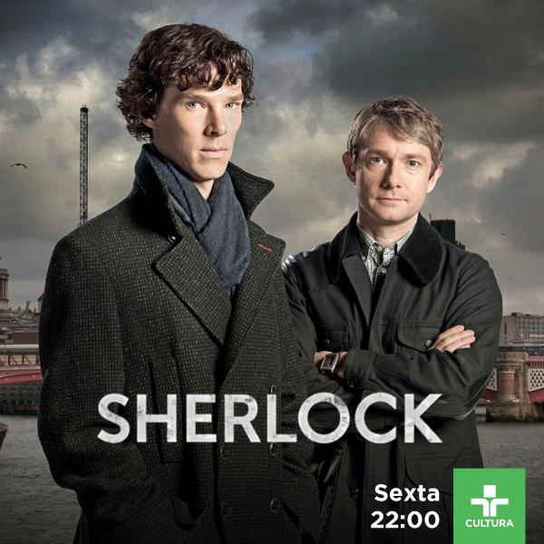 Sherlock na TV Cultura