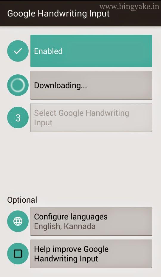 Google Handwriting Input guide
