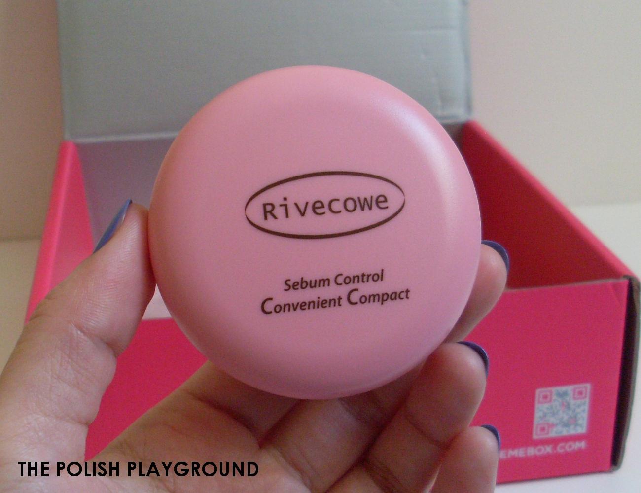 Memebox Office Essentials Unboxing - RiveCowe Sebum Control Convenient Compact