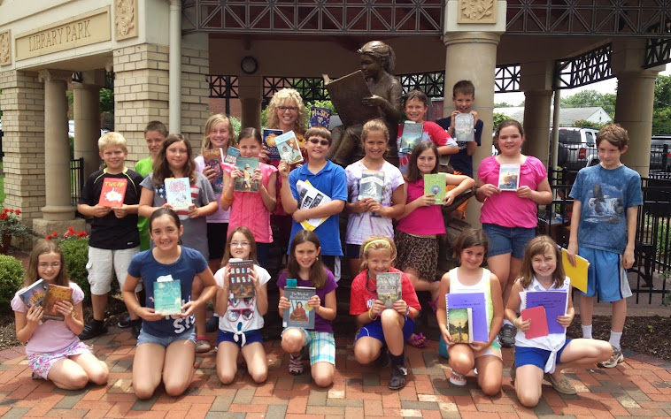 Mock Newbery 2014 Club Summer #1 Meeting