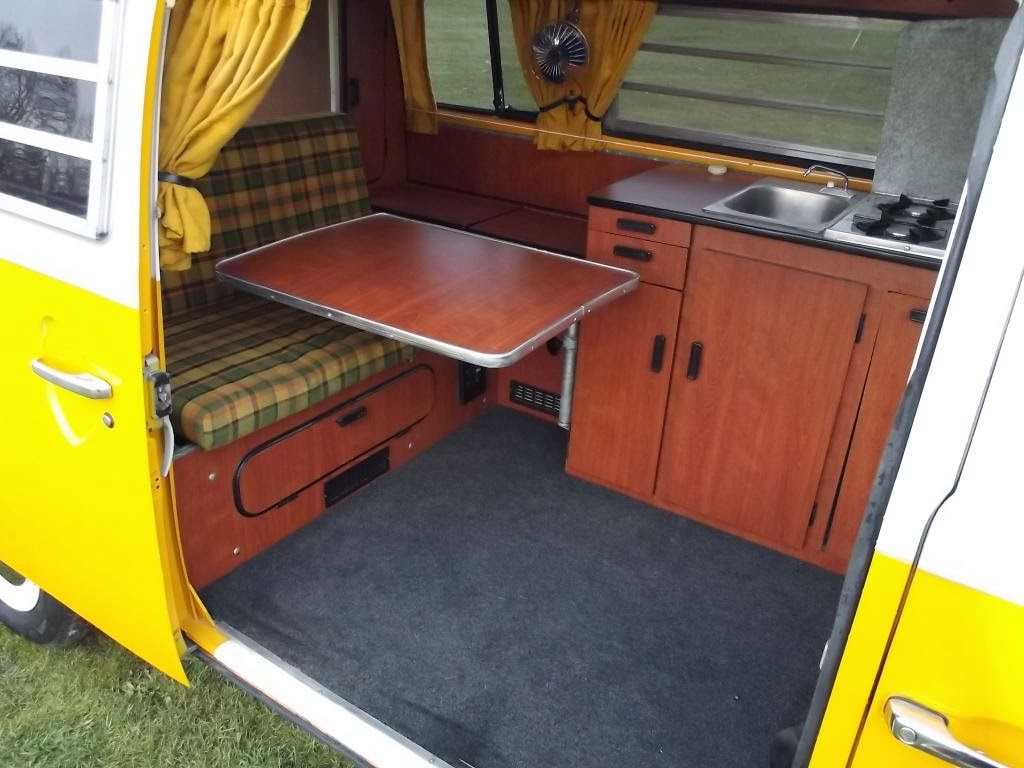1976 westfalia camper van vw bus for Interior westfalia