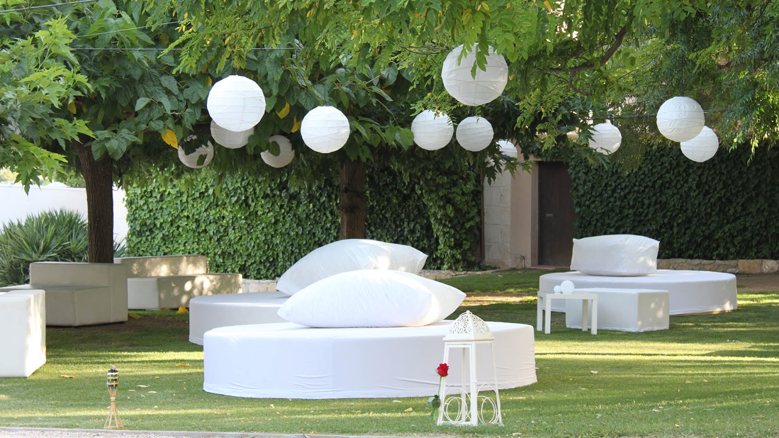 Eres eventos zona chill out para el jard n - Chill out jardin ...