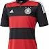 Adidas divulga camisa reserva da Alemanha para a Copa do Mundo