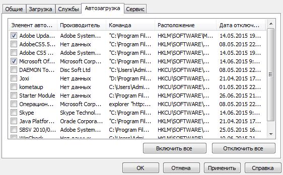оптимизация работы windows 7