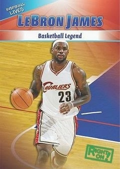 bookcover of LeBron JAMES: Basketball Legend by Shanya Worthy