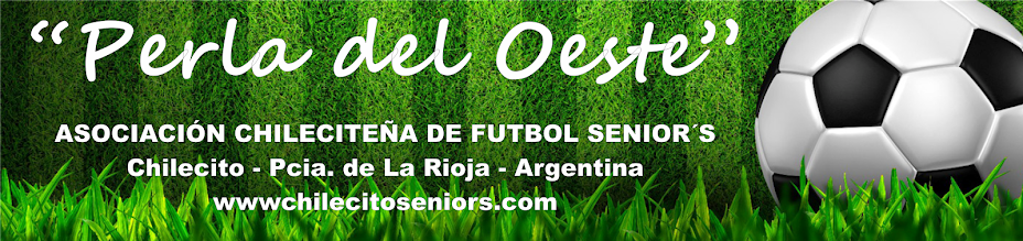 Chilecito Seniors Fixture
