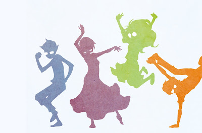 dancing girls boys sketching hq wallpapers