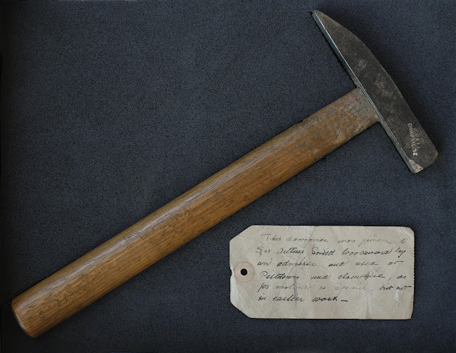 Arthur Smith Woodward's hammer