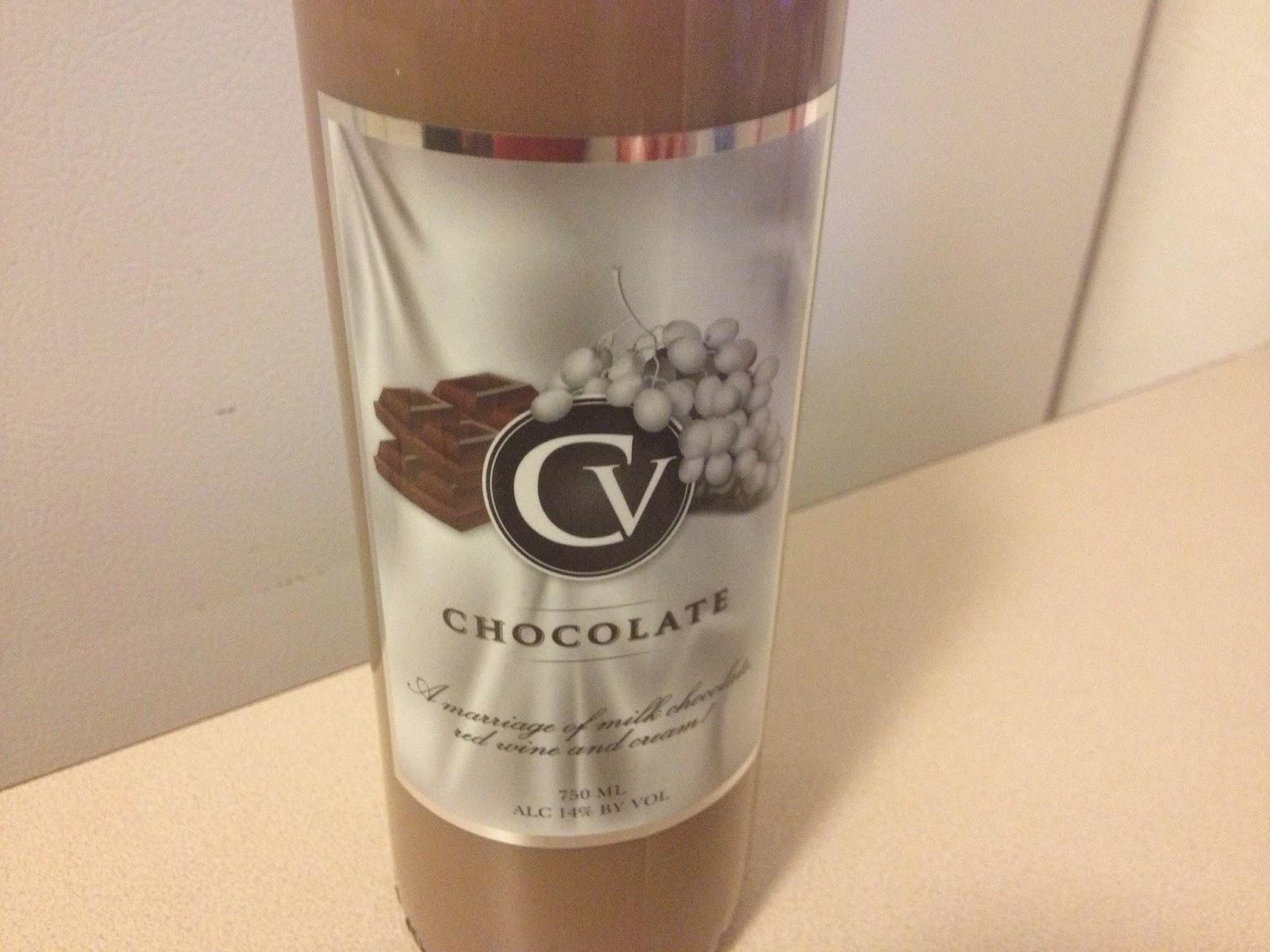 The Wine Wanderings: Tasting - CV Chocolate Wine