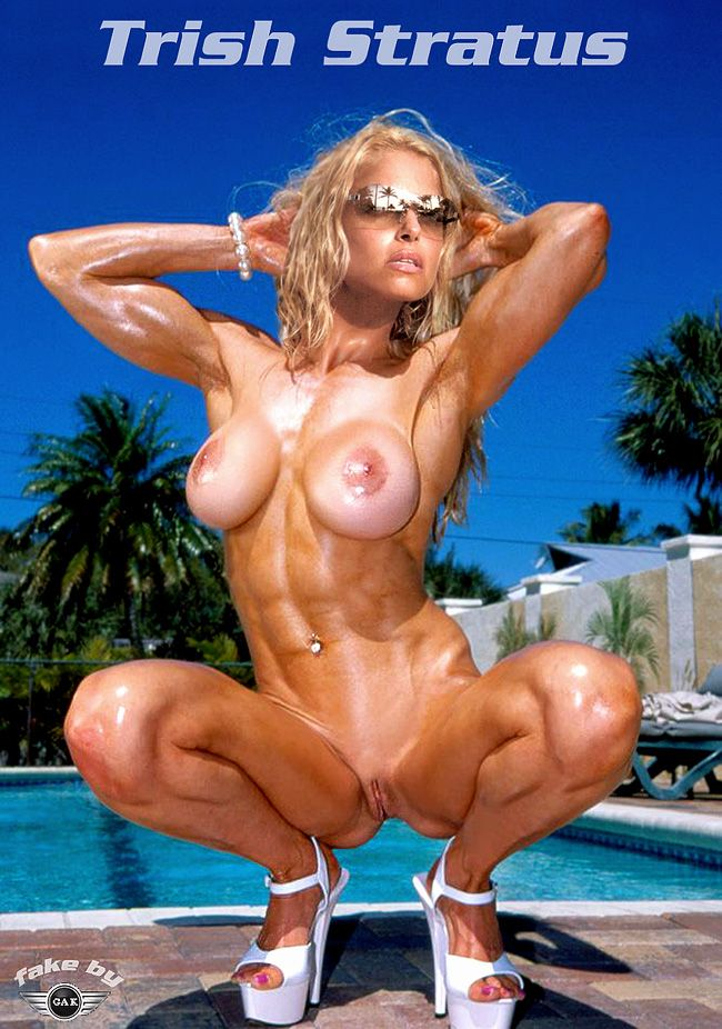 wwe trish stratus really showing her body naked