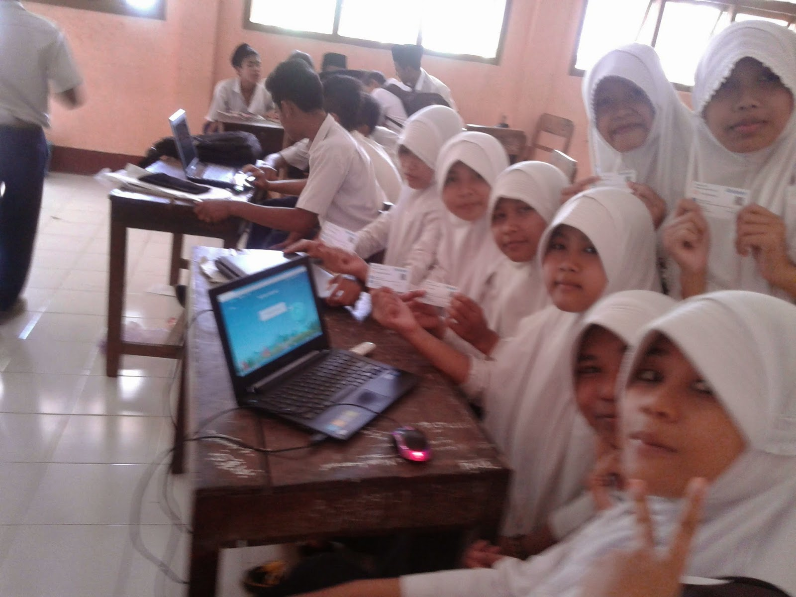 Sistem pembelajaran e-learning Quipper School