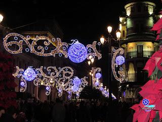 Sevilla - Alumbrado navideño 2014 - Avenida de la Constitución